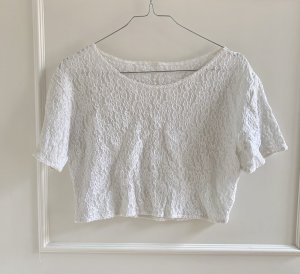 Urban Outfitters Crop-top blanc