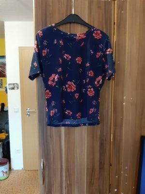 Tally Weijl Camisa acanalada azul oscuro