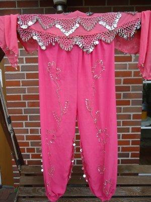 Traditionele jurk roze