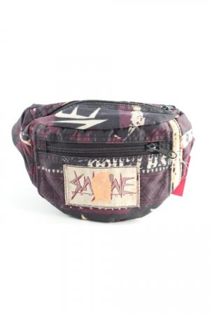 Bumbag abstract print '80s style