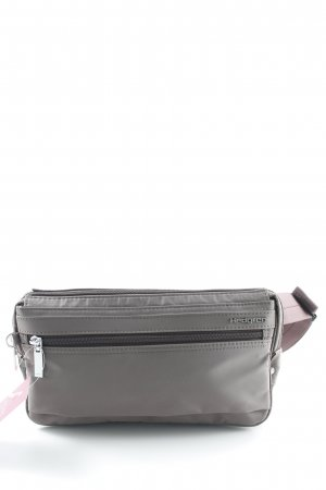 Marsupio marrone-grigio stile casual