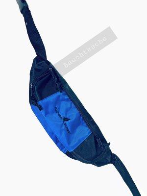 Vintage Marsupio nero-blu
