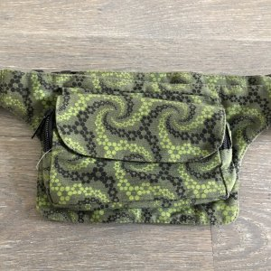 Bumbag multicolored cotton