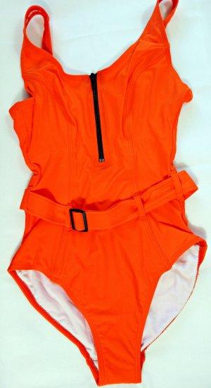 Heine Swimsuit orange polyamide