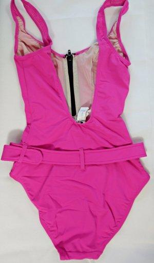 Heine Swimsuit pink polyamide
