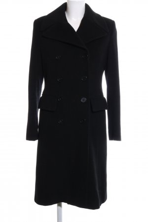 Bauer Geklede jas zwart zakelijke stijl