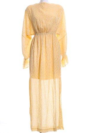 Baum und Pferdgarten Maxi Dress primrose-silver-colored elegant