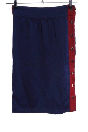 Baum und Pferdgarten Midi Skirt blue-red casual look