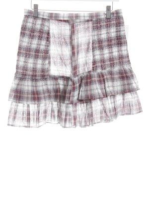 Baum und Pferdgarten Mini-jupe motif à carreaux style décontracté