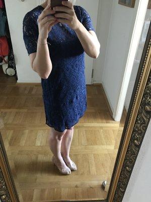 Baum und Pferdgarten Spitzenkleid Kleid blau 34/36 wNeu 399€ zalando asos