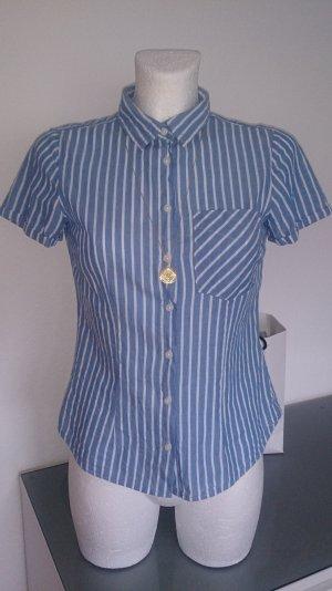 Baumwoll Basic Bluse