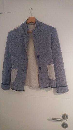 Jersey Blazer light grey-blue