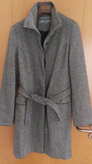 Blind Date Abrigo de lana multicolor tejido mezclado