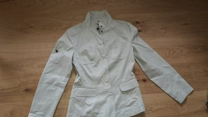 Baumwoll Jacke  von Oliver Woman, Gr. 36/S, stone  - wie neu