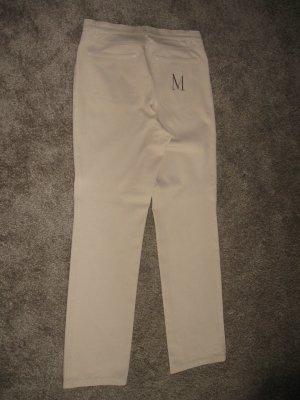 Madeleine Pantalon cinq poches beige coton