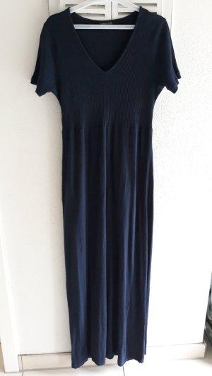 Baumwoll-Kleid dunkelblau Figur