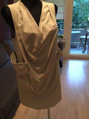 COS Off-The-Shoulder Dress white-light grey