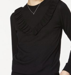 armedangels Knitted Sweater black cotton