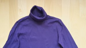 Baumwoll Rollkragen Pullover