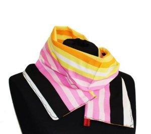Baumwoll Schal mit Streifen