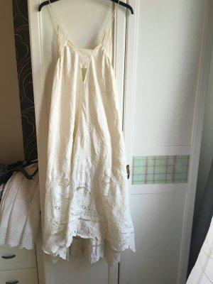 Baumwoll Spitze Kleid