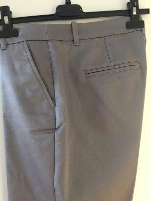 Yessica Pantalon à pinces gris coton
