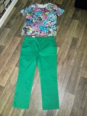 Bexleys Pantalone cinque tasche multicolore