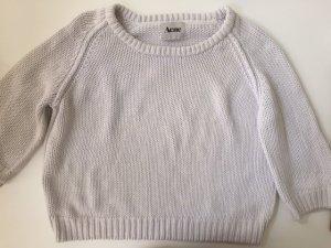 Baumwoll – Strick Pullover von Acne, weiss