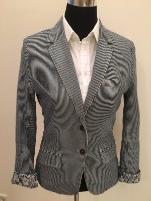 H&M Denim Blazer slate-gray