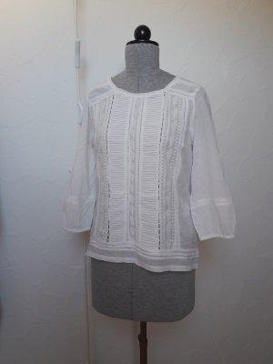 Sfera Slip-over blouse wit Katoen