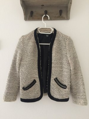 Baumwolle-Blazer mit Highlights