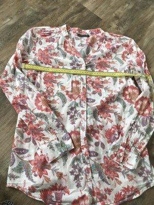 Baumwolle Hemd mit Blumenmuster