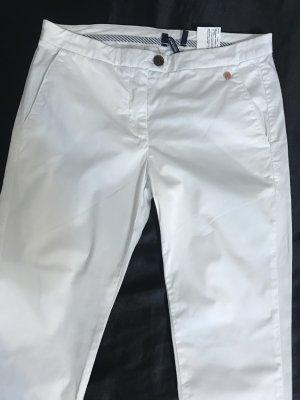 Baumwolle Hose /Weiß /Chino / 27