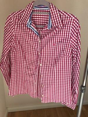 Baumwolle Karo Hemd pink rot