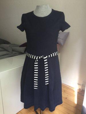 Baumwolle Kleid blau