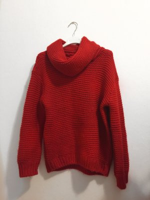 Zara Sweater red