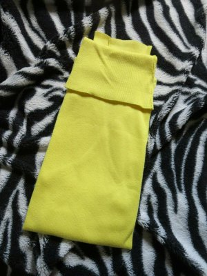 Maglione dolcevita giallo Cotone