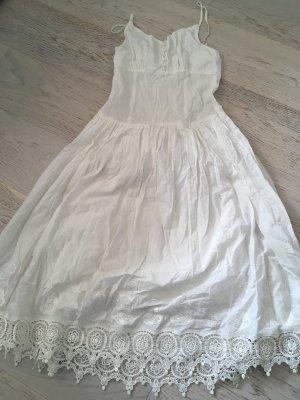 Baumwolle Sommer Midi Kleid