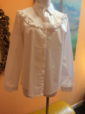 Long Sleeve Shirt white cotton