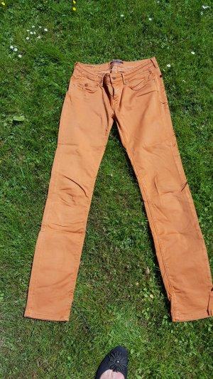 Maison Scotch Five-Pocket Trousers dark orange