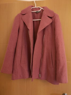 Zara Wool Jacket raspberry-red