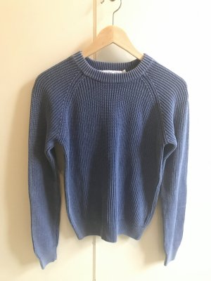 & other stories Knitted Sweater cornflower blue cotton