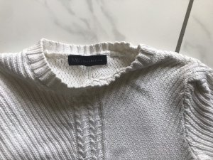 M&S Cable Sweater natural white