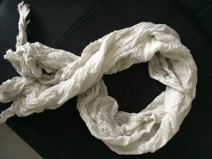 H&M Scarf cream-white