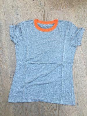 Michael Kors Shirt light grey-light orange cotton