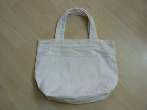 H&M Shopping Bag white cotton