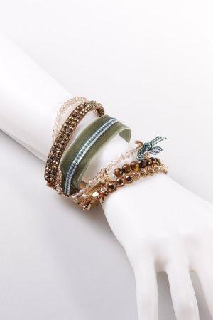 Bavarihills Armband grün-braun