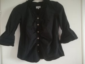 Traditional Blouse black-silver-colored