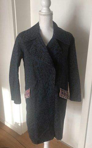 Bruuns bazaar Abrigo corto azul oscuro