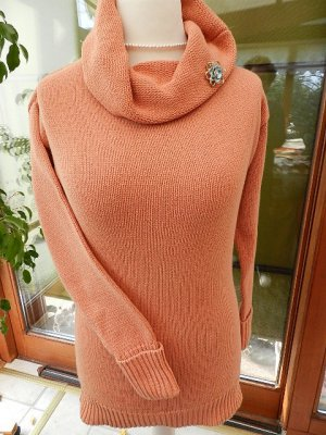 BC Best Connections  Damen Pullover Longpullover Orange, Gr. 40 - sehr gut